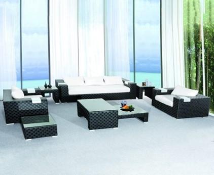 Rattan furniture sets make the living room more special